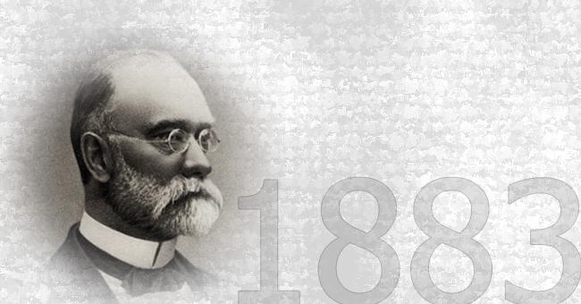 CARL IN ADOLF VORWERK USTANOVITA TOVARNO PREPROG VORWERK & CO.<br>1883