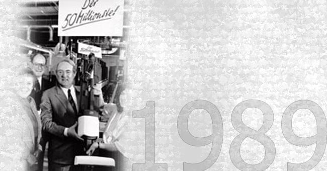 PROIZVEDEN 50-MILIJONTI KOBOLD<br>1989